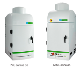 IVIS Lumina S5 and X5 imaging systems